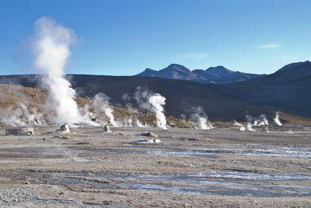 El Tatio Geysers in Atacama
