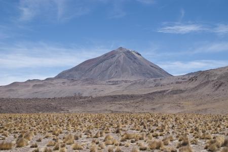 Volcan  Cerro Colorado atacama desert photo