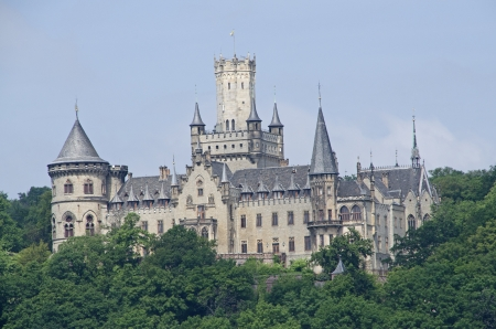 crus: The Castle Marienburg in germany Editorial