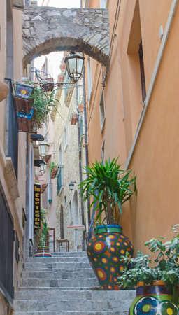 pflanzen: Stadt Taormina