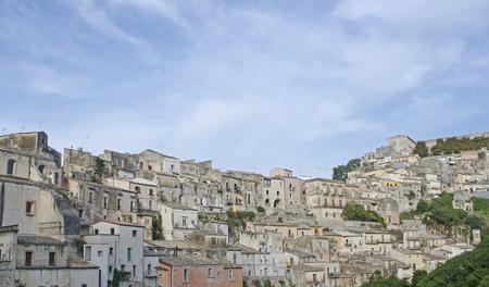 ragusa: view of the city of Ragusa