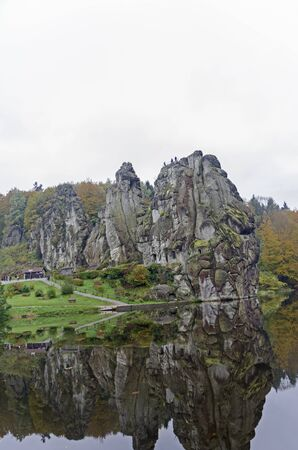 beautifu: This rock formation is located in the nearing of Horn-Bad Meinberg and Detmold