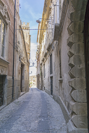 south italy: The  architecture in Tropea , Calabria south italy