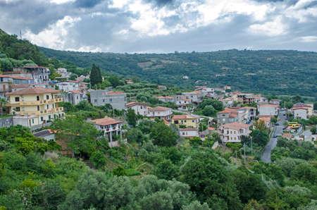 mediterranea: The view of the coast calabria south italy