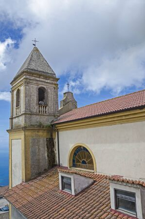 south italy: The church in calabria , south italy Stock Photo