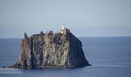 aeolian: Aeolian Island in Tyrrhenian sea near Stromboli, south Italy Stock Photo