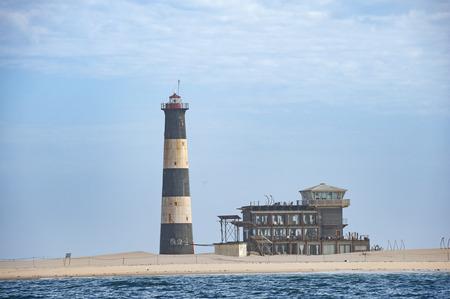 Ocean lighthouse walvis bay , pelican point