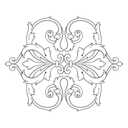 baroque: Vintage baroque frame