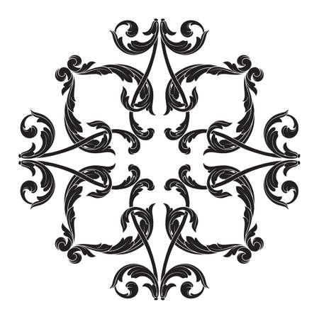 Classical baroque icon.