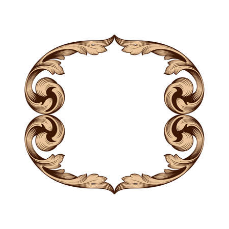 Classical baroque frame.