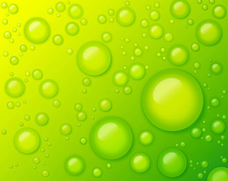 virginity: Water Drops on Green Background Abstract. Concepts of Fresh, Eco Friendly, Purity, Virginity,  Freshness, Refreshing, Recharge and Energizing