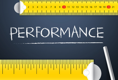 Measuring Business Performance Фото со стока - 37590337