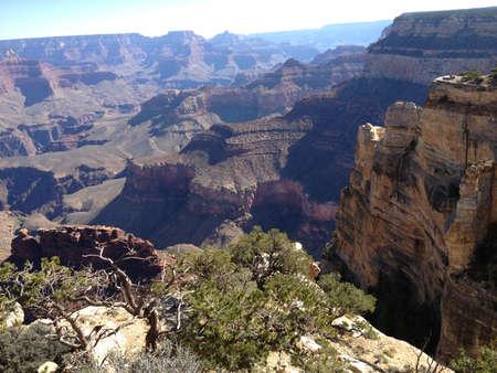Grand Canyon Arizona Zdjęcie Seryjne
