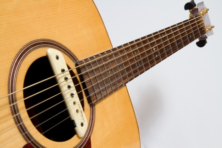 frets: Strum the acoustic
