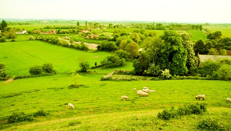 An English country scene photo