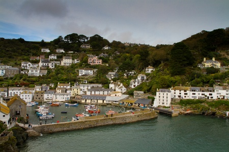 Polperro Harbour photo