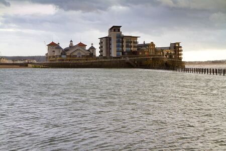 brean: Knightstone Island and the Marine Lake, Weston-super-Mare