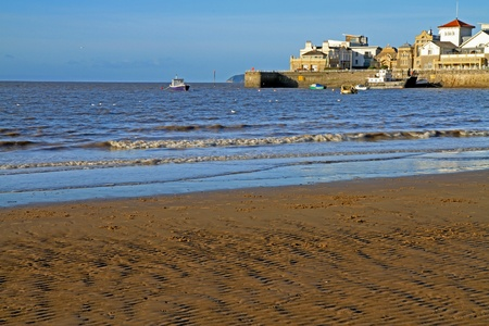 birnbeck: Knightstone Island Weston-super-Mare on a sunny day