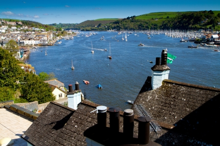 The River Dart in Dartmouth with Kingswear across the water photo