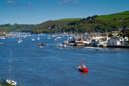 Kingswear on the River Dart in Devon   photo