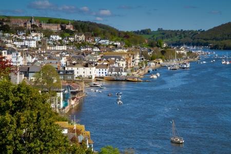 Dartmouth on the River Dart in Devon  photo