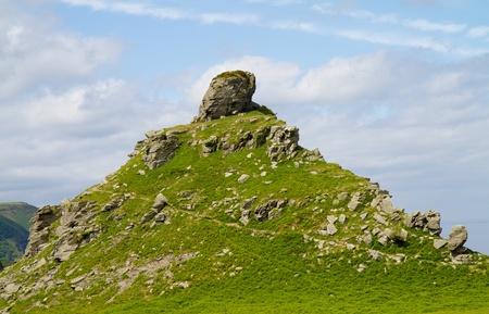 lynton: Castle Rock in the Valley of Rocks Lynton Devon