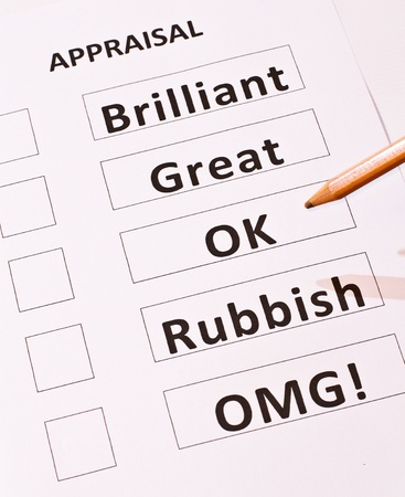 A fun alternative Performance Appraisal form