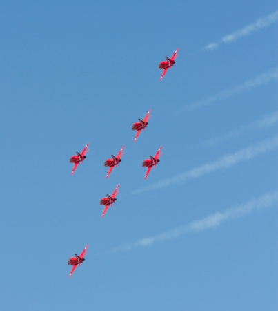 Red Arrows RAF Display Team