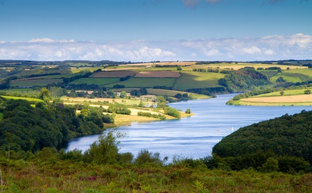 exmoor: Wimbleball Lake Exmoor National Park Somerset England