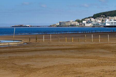 birnbeck: Weston super Mare spiaggia e del lungomare
