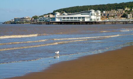 birnbeck: Weston-super-Mare beach