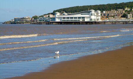 birnbeck: Weston-super-Mare beach