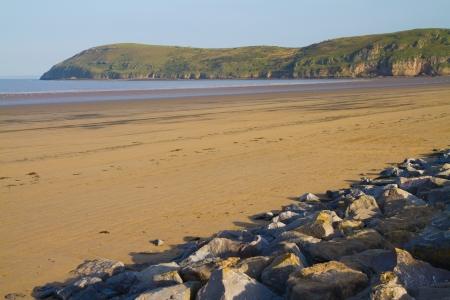 Brean beach near Burnham on Sea Somerset Stock Photo - 15226903