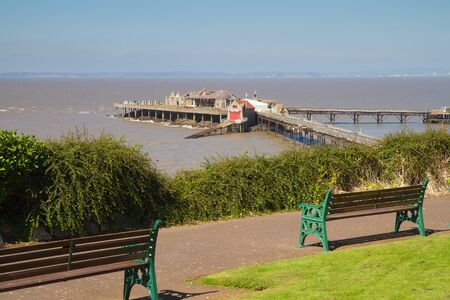 lifeboat station: Birnbeck Island Weston-super-Mare Stock Photo