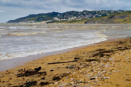 Charmouth beach in Dorset, England Stock Photo - 15542268