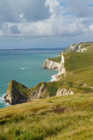 Lulworth Cove to Durdle Door walk Dorset