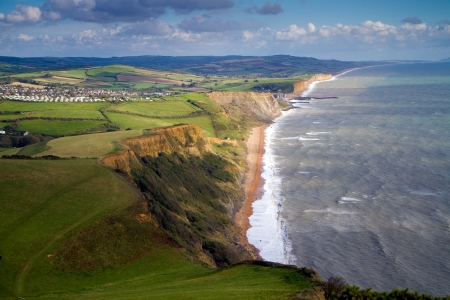 English coastline in Dorset Stock Photo - 15684684