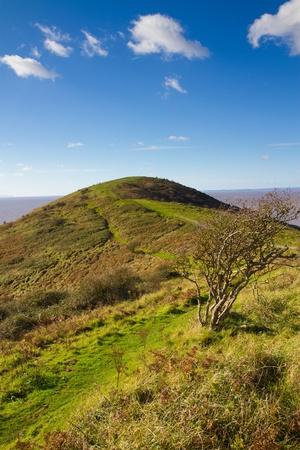 birnbeck: Brean Down Somerset sulla passeggiata verso il forte alla fine