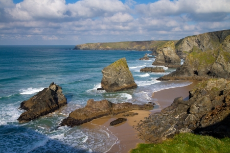 Bedruthan Steps Corwnall photo