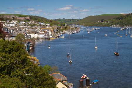 Dartmouth Devon England and River Dart Stock Photo - 17131950