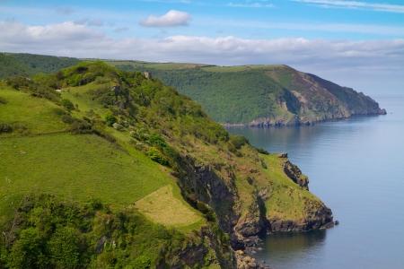 headland: Coast of England in Devon
