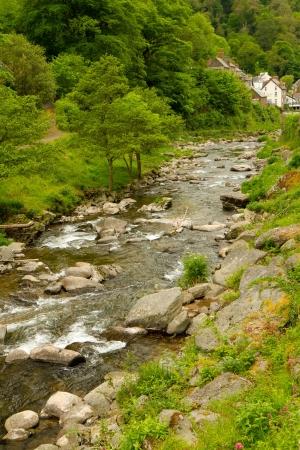 lynton: River Lyn Lynmouth Devon