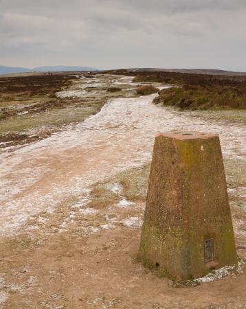 quantock hills: English Winter at Quantock Hills Somerset  Stock Photo