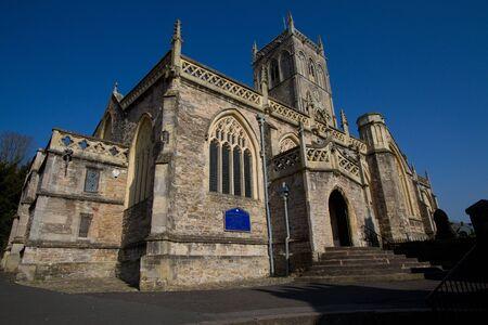 somerset: Axbridge Church Somerset England