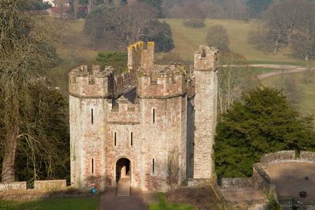 county somerset: Dunster Castle Tenants Hall Somerset England