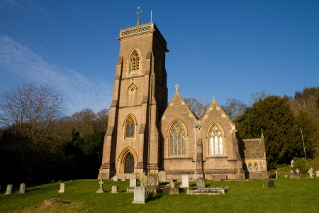 county somerset: St Audries Church West Quantoxhead Somerset England
