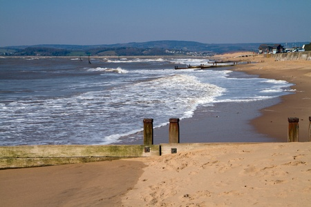 Exmouth East Devon England on the mouth of the River Exe
