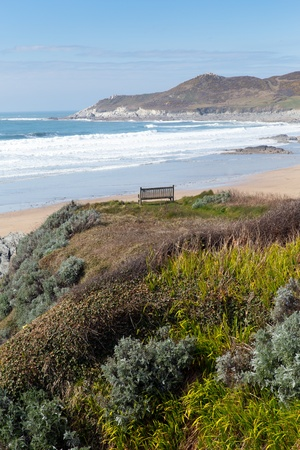 Devon coast Woolacombe England UK photo