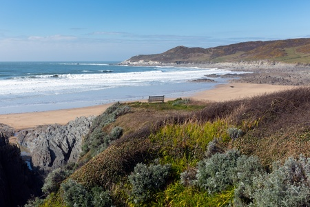 North Devon coast Woolacombe photo