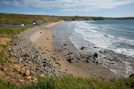 pembrokeshire: Pembrokeshire Whitesands Bay West Wales UK
